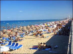 пляж в торревьеха